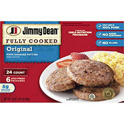 Jimmy Dean Original Pork Sausage Patties, 24 ct.