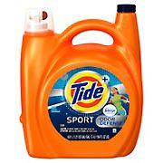Tide Plus Febreze Sport Odor Defense Active Fresh HE Liquid Laundry Detergent, 156 fl. oz.