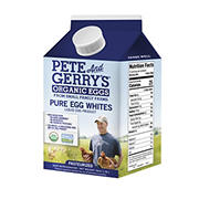 Pete and Gerry's Organic Liquid Egg Whites,2 pk./16 oz.