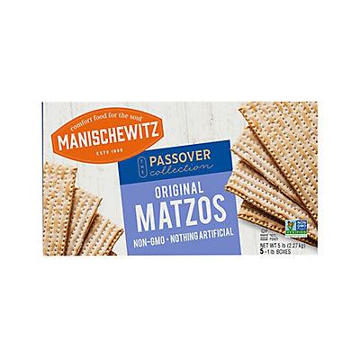 Manischewitz Unsalted Matzo, 5 lb. Box