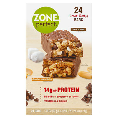 ZonePerfect Nutrition Bar Fudge Graham and Chocolate Peanut Butter Bar