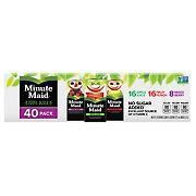 Minute Maid 100% Juice, 40 ct./6 oz.