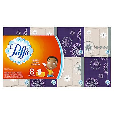 Puffs Basic Facial Tissues, 1,440 sheets