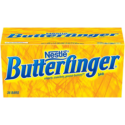 Nestle Butterfinger Single Bars, 36 ct.