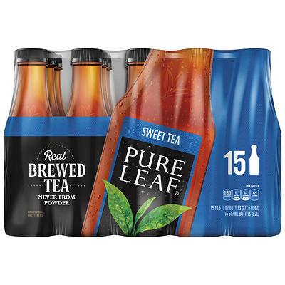 Pure Leaf Real Brewed Sweet Tea, 15 pk./18.5 oz.