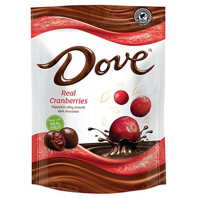 Dove Dark Chocolate-Covered Whole Cranberries, 26 oz.