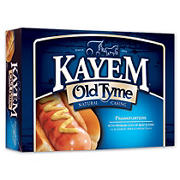 Kayem Old Tyme Natural Casing Franks, 2.5 lbs.