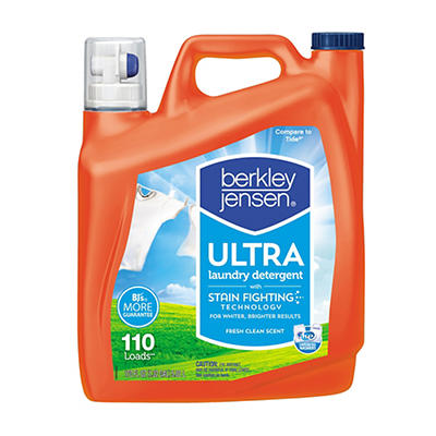 Berkley Jensen Ultra Liquid Laundry Detergent, 170 fl. oz.
