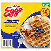 Kellogg's Eggo Blueberry Waffles, 60 ct.