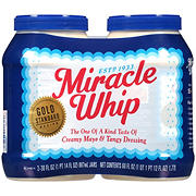 Kraft Miracle Whip Dressing, 2 ct./30 oz.