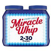 Kraft Miracle Whip Dressing, 2 ct./30 oz.