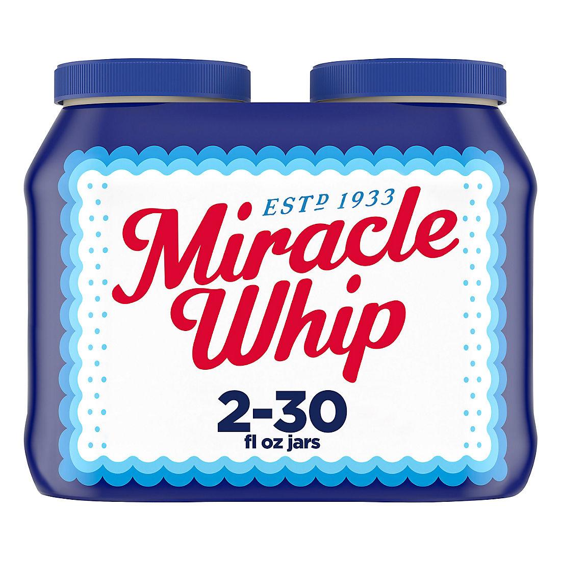 Kraft Miracle Whip Dressing, 2 ct./30
