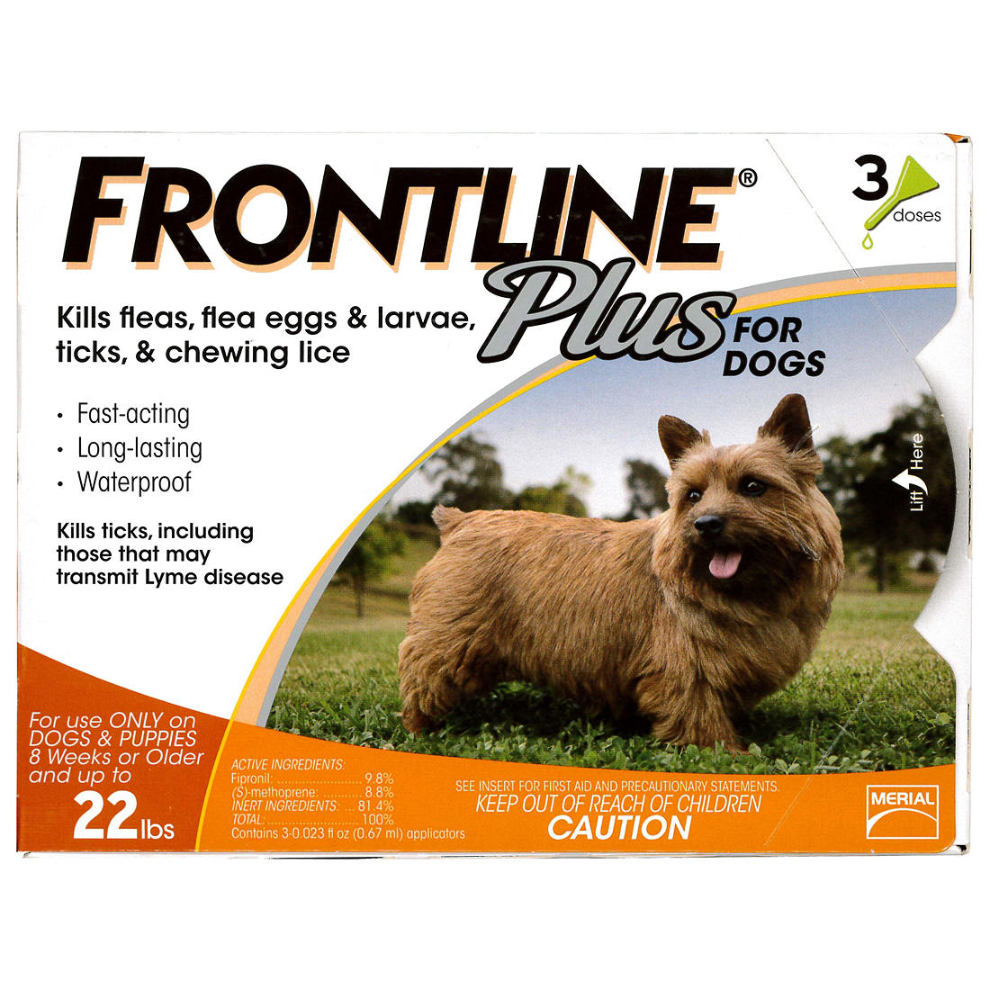 photograph about Frontline Coupons Printable known as Frontline Moreover For Minor Canine, 3 Courses