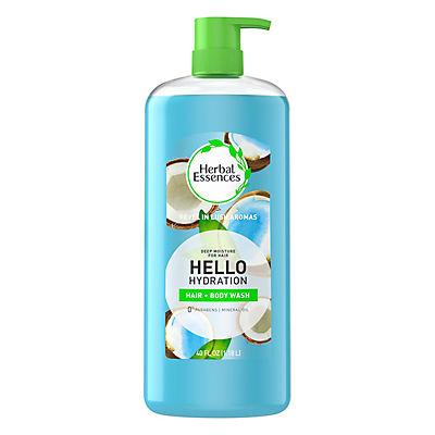 Herbal Essences Hello Hydration Moisturizing Shampoo with Coconut Essences, 40 fl. oz.