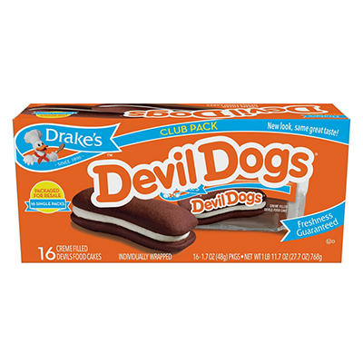 Drake's Devil Dogs, 16 ct./26.5 oz.