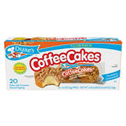Drake's Coffee Cakes, 20 ct./24.46 oz.