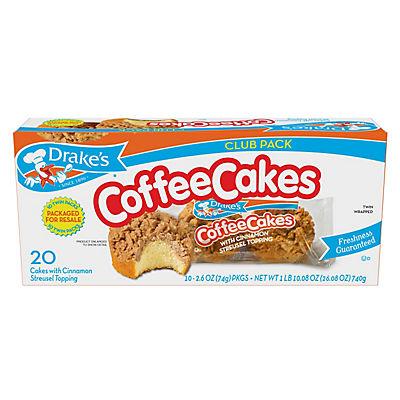 Drake's Coffee Cakes, 20 ct./24.46 oz.