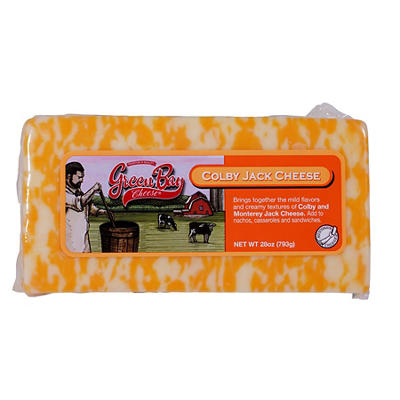 Green Bay Colby Jack Cheese, 28 oz.