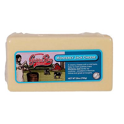 Green Bay Monterrey Jack Cheese, 28 oz.