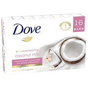 Dove Coconut Milk Beauty Bar, 16 ct./ 4 oz.