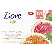 Dove Summer Care Beauty Bar, 16 pk./4 oz.