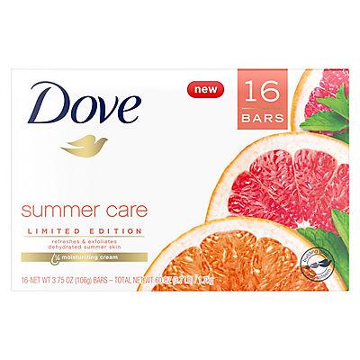 Dove Summer Care Beauty Bar, 16 pk./4 oz.