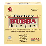 Bubba Burger Turkey Burgers, 16 ct./4 oz.