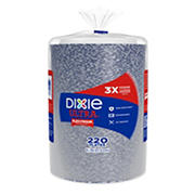 "Dixie Ultra 8.5"" Plates, 220 ct. - Flower Power"