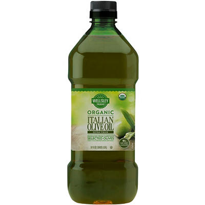 Wellsley Farms Organic Extra Virgin Olive Oil, 51 oz.