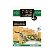 Fillo Factory Spinach and Cheese Fillo Pies, 2 ct./24 oz.