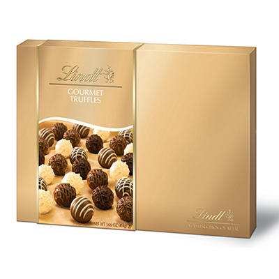 Lindt Gourmet Truffle Gift Box, 14.6 oz.