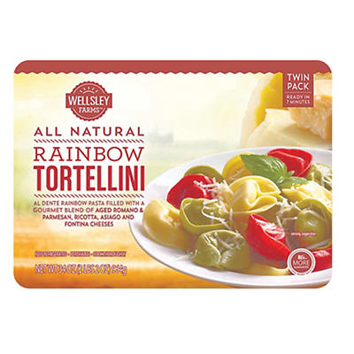 Wellsley Farms Rainbow Tortellini, 34 oz.