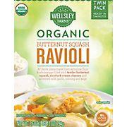 Wellsley Farms Organic Butternut Squash Ravioli, 28 oz.