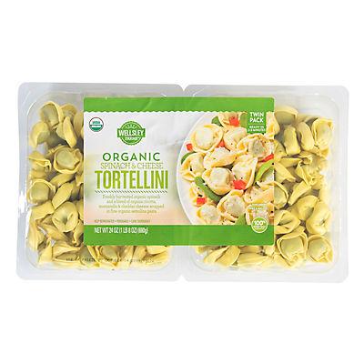 Wellsley Farms Organic Spinach and Cheddar Tortellini, 24 oz.