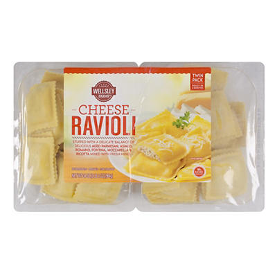 Wellsley Farms Cheese Ravioli, 34 oz.
