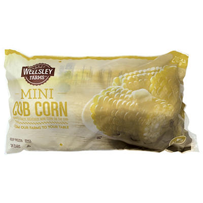 Wellsley Farms Mini Cob Corn, 12 ct.