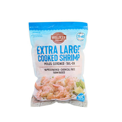 Wellsley Farms Extra Large Cooked Shrimp, 2 lbs.