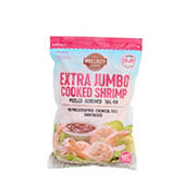 Wellsley Farms Extra Jumbo Cooked Shrimp, 1.5 lbs.