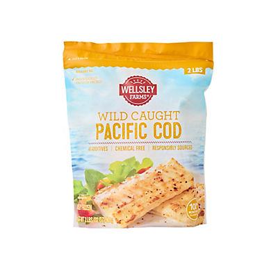 Wellsley Farms Wild-Caught Pacific Cod, 2 lbs.