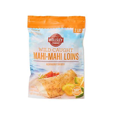 Wellsley Farms Wild-Caught Mahi-Mahi Loins, 2 lbs.
