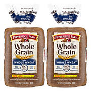 Pepperidge Farm Whole Grain 100% Whole Wheat Bread, 2 ct.