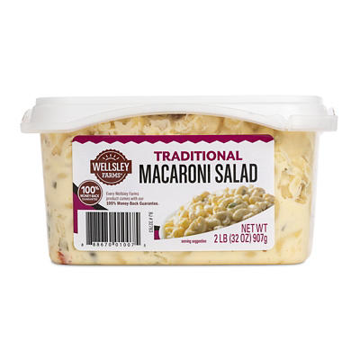 Wellsley Farms Traditional Macaroni Salad, 2 lbs.