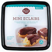 Wellsley Farms Signature Collection Mini Eclairs, 50 ct.