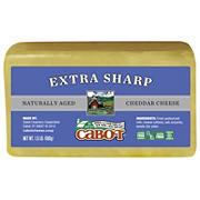 Cabot Naturally Aged Extra Sharp Cheddar Cheese, 1.5 lbs.