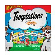 Whiskas Temptations Cat Treats Mega Pack, 5 ct./6.3 oz.