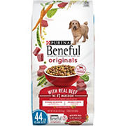 Purina Beneful Originals with Real Beef Dog Food, 44 lbs.