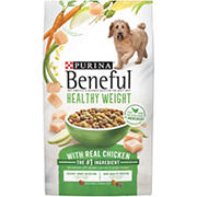 Purina Beneful Healthy Weight with Real Chicken Dog Food, 44 lbs.