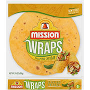 Mission Wraps Jalapeno Cheddar, 6 ct.