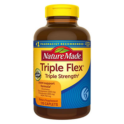 Nature Made Triple Flex Triple Strength, 170 ct.