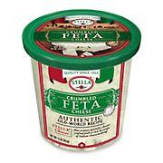 Stella Crumbled Feta Cheese, 16 oz.